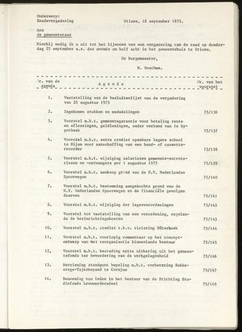 Notulen van de gemeenteraad van Leeuwarderadeel 1975-08-28