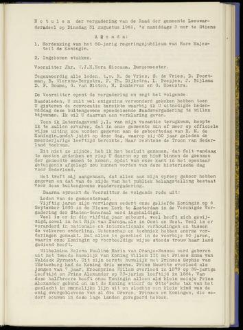 Notulen van de gemeenteraad van Leeuwarderadeel 1948-08-31