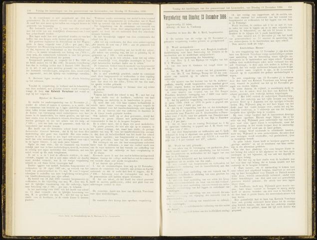 Raadsverslagen van de gemeente Leeuwarden, 1865-2007 (Notulen) 1898-12-13