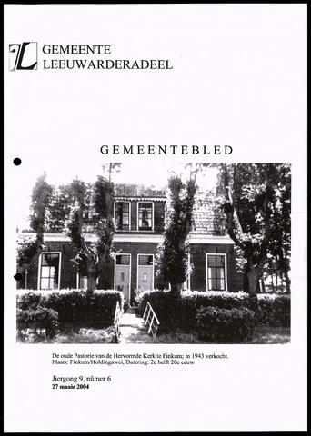 Notulen van de gemeenteraad van Leeuwarderadeel 2004-05-27