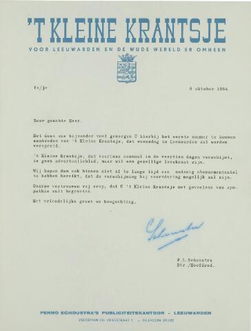 't Kleine Krantsje, 1964-1997 1964-10-06