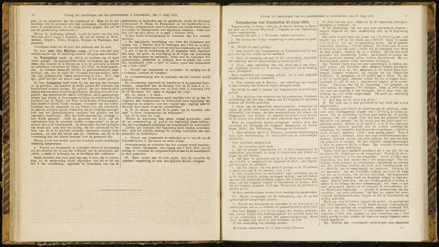 Raadsverslagen van de gemeente Leeuwarden, 1865-2007 (Notulen) 1874-06-25