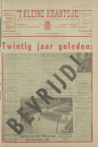 't Kleine Krantsje, 1964-1997 1965-04-07