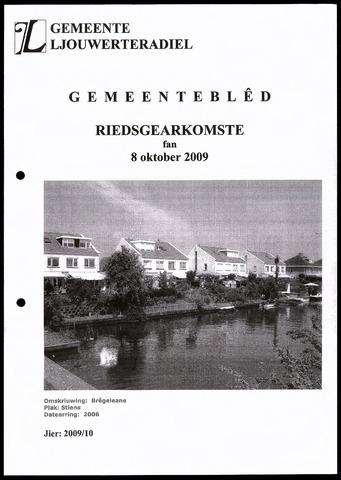 Notulen van de gemeenteraad van Leeuwarderadeel 2009-10-08