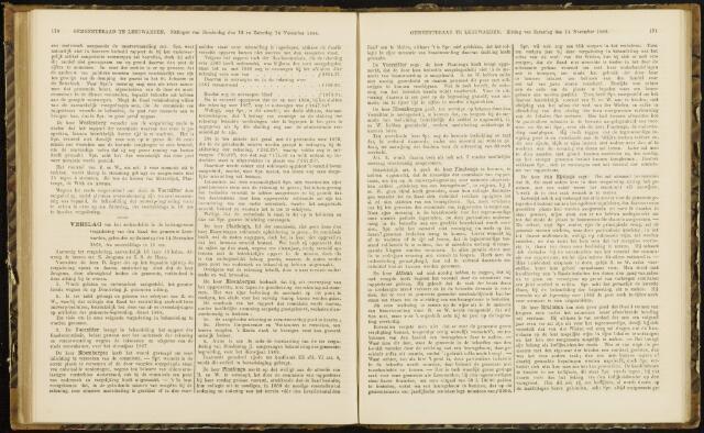 Raadsverslagen van de gemeente Leeuwarden, 1865-2007 (Notulen) 1868-11-14