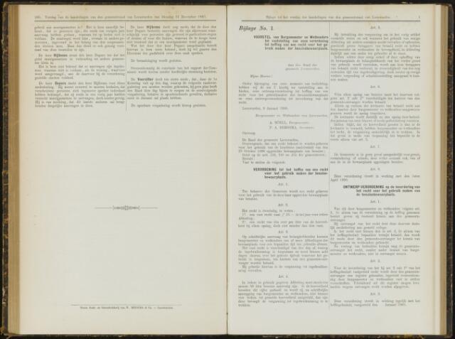Raadsverslagen van de gemeente Leeuwarden, 1865-2007 (Bijlagen) 1900-01-01