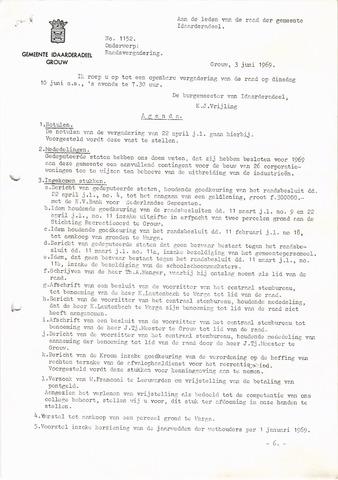 raadsverslagen Idaarderadeel 1935-1983 1969-06-10