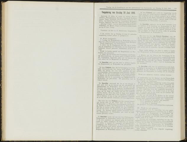 Raadsverslagen van de gemeente Leeuwarden, 1865-2007 (Notulen) 1906-06-13