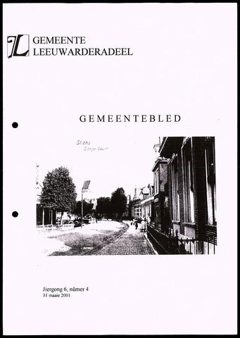 Notulen van de gemeenteraad van Leeuwarderadeel 2001-05-31