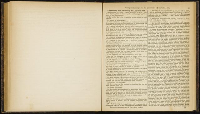 Raadsverslagen van de gemeente Leeuwarden, 1865-2007 (Notulen) 1872-08-22