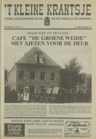 't Kleine Krantsje, 1964-1997 1980-06-14