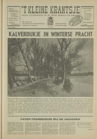 't Kleine Krantsje, 1964-1997 1972-01-22
