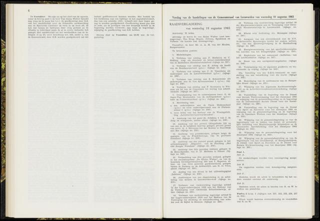 Raadsverslagen van de gemeente Leeuwarden, 1865-2007 (Notulen) 1965-08-18