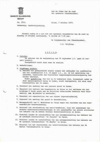 raadsverslagen Idaarderadeel 1935-1983 1977-10-18