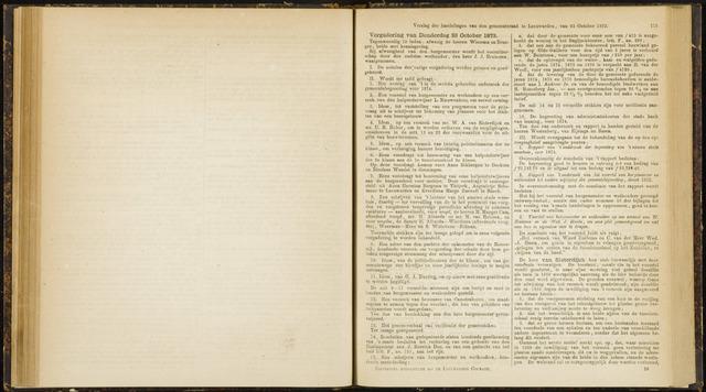 Raadsverslagen van de gemeente Leeuwarden, 1865-2007 (Notulen) 1873-10-23