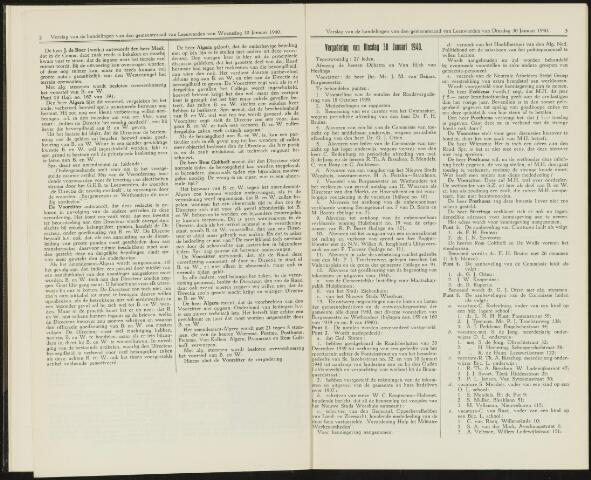 Raadsverslagen van de gemeente Leeuwarden, 1865-2007 (Notulen) 1940-01-30