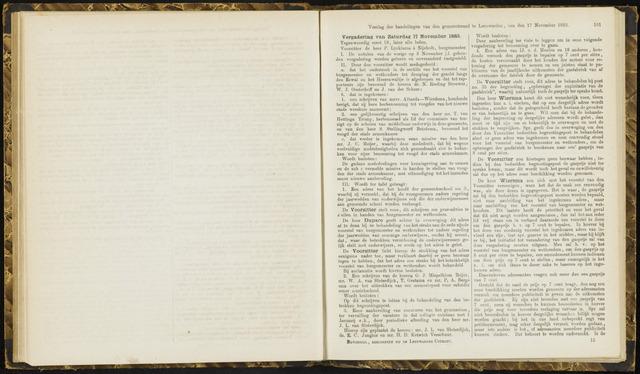Raadsverslagen van de gemeente Leeuwarden, 1865-2007 (Notulen) 1883-11-17