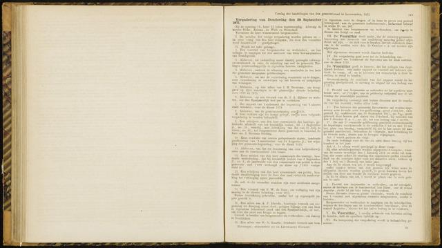 Raadsverslagen van de gemeente Leeuwarden, 1865-2007 (Notulen) 1871-09-28