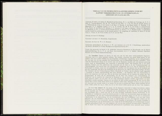 Raadsverslagen van de gemeente Leeuwarden, 1865-2007 (Notulen) 1978-01-23