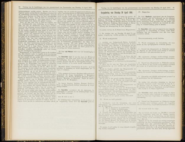 Raadsverslagen van de gemeente Leeuwarden, 1865-2007 (Notulen) 1910-04-26