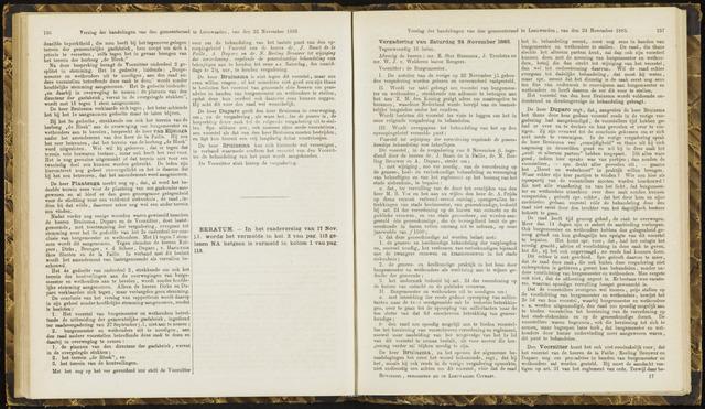 Raadsverslagen van de gemeente Leeuwarden, 1865-2007 (Notulen) 1883-11-24