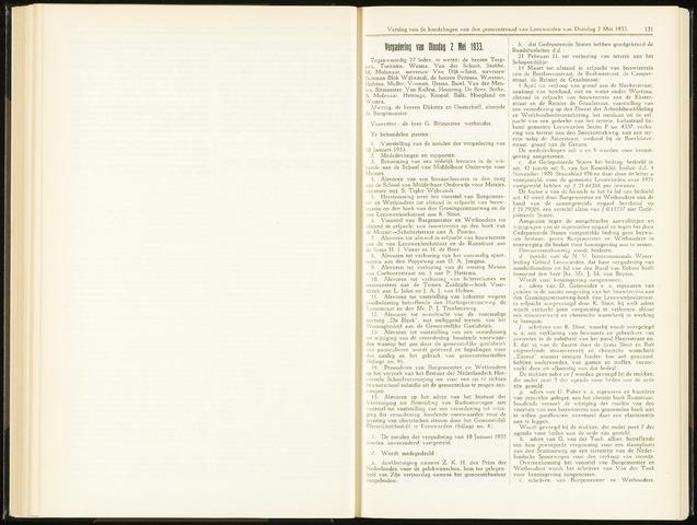 Raadsverslagen van de gemeente Leeuwarden, 1865-2007 (Notulen) 1933-05-02