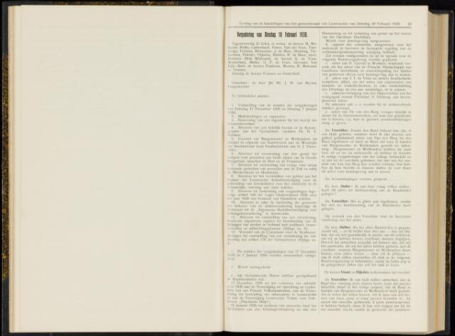Raadsverslagen van de gemeente Leeuwarden, 1865-2007 (Notulen) 1930-02-18