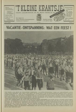 't Kleine Krantsje, 1964-1997 1972-07-08