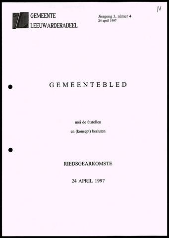 Notulen van de gemeenteraad van Leeuwarderadeel 1997-04-24