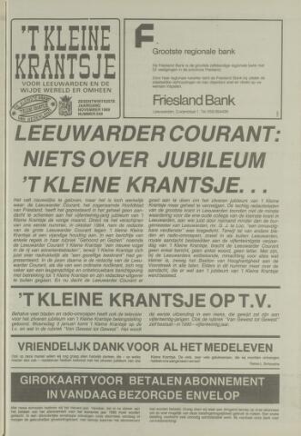 't Kleine Krantsje, 1964-1997 1989-11-01