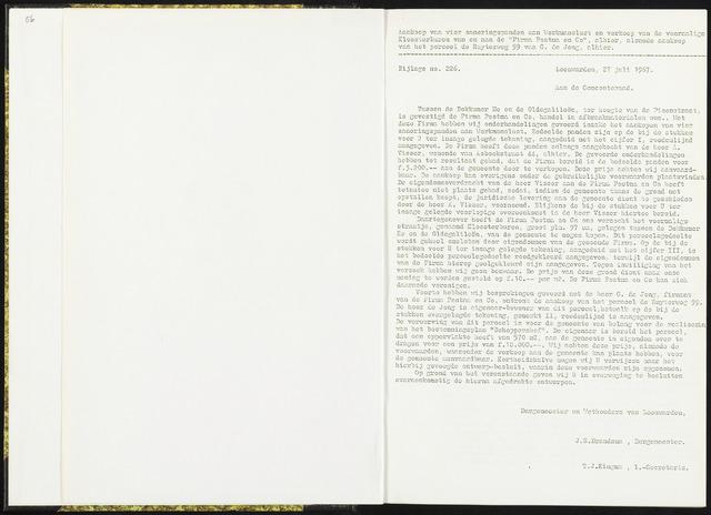 Raadsverslagen van de gemeente Leeuwarden, 1865-2007 (Bijlagen) 1967-01-01