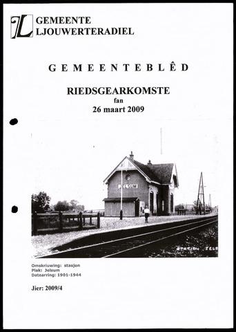 Notulen van de gemeenteraad van Leeuwarderadeel 2009-03-26