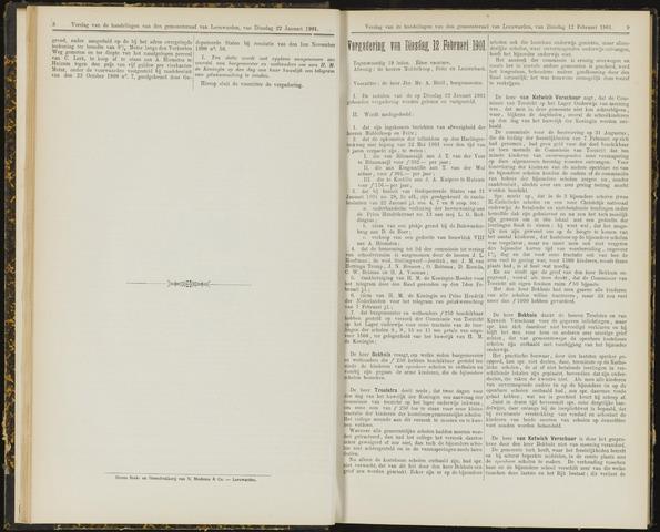 Raadsverslagen van de gemeente Leeuwarden, 1865-2007 (Notulen) 1901-02-12
