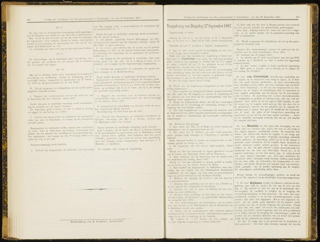 Raadsverslagen van de gemeente Leeuwarden, 1865-2007 (Notulen) 1887-09-27