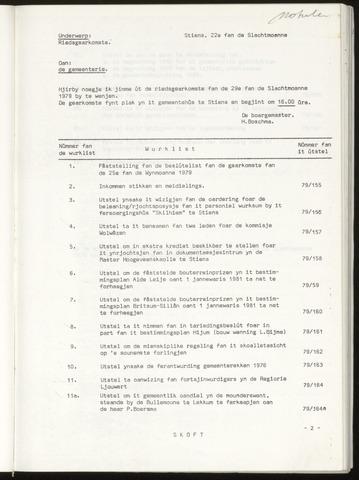 Notulen van de gemeenteraad van Leeuwarderadeel 1979-11-29