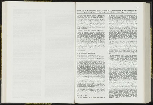 Raadsverslagen van de gemeente Leeuwarden, 1865-2007 (Notulen) 1975-03-18