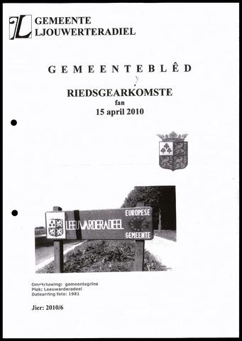 Notulen van de gemeenteraad van Leeuwarderadeel 2010-04-15