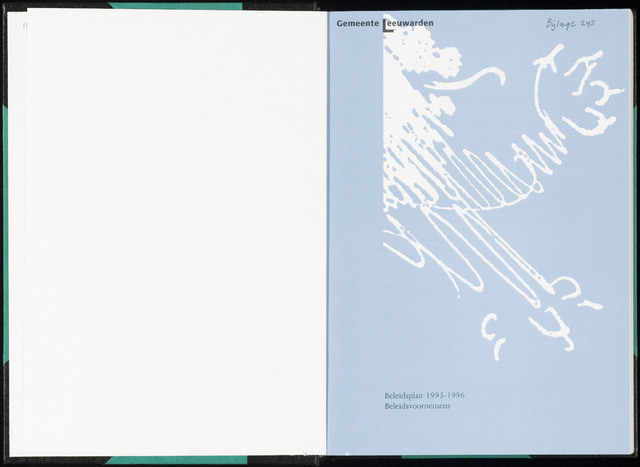 Raadsverslagen van de gemeente Leeuwarden, 1865-2007 (Bijlagen) 1993-01-01