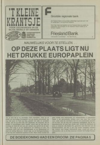 't Kleine Krantsje, 1964-1997 1989-04-01