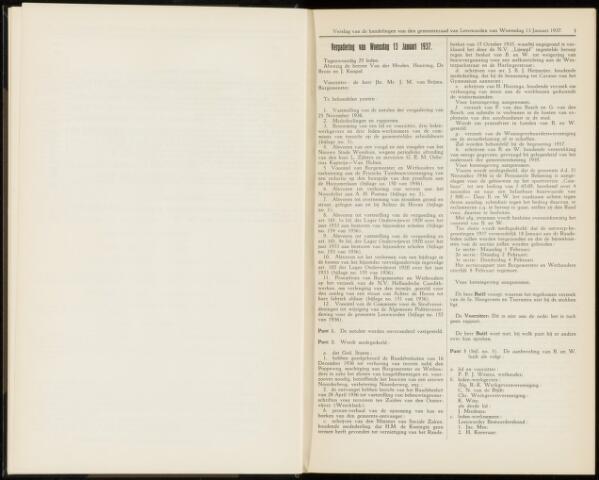 Raadsverslagen van de gemeente Leeuwarden, 1865-2007 (Notulen) 1937