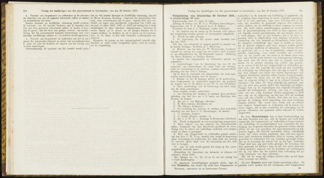 Raadsverslagen van de gemeente Leeuwarden, 1865-2007 (Notulen) 1879-10-30