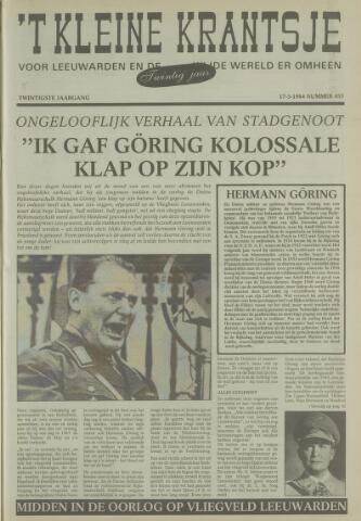 't Kleine Krantsje, 1964-1997 1984-03-17
