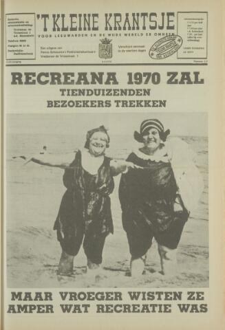 't Kleine Krantsje, 1964-1997 1970-04-04