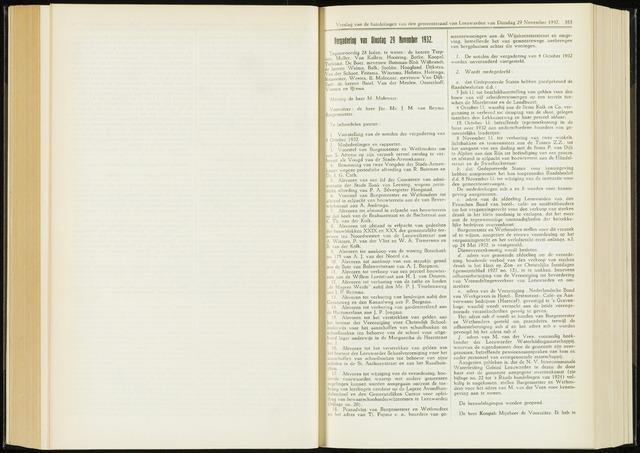 Raadsverslagen van de gemeente Leeuwarden, 1865-2007 (Notulen) 1932-11-29