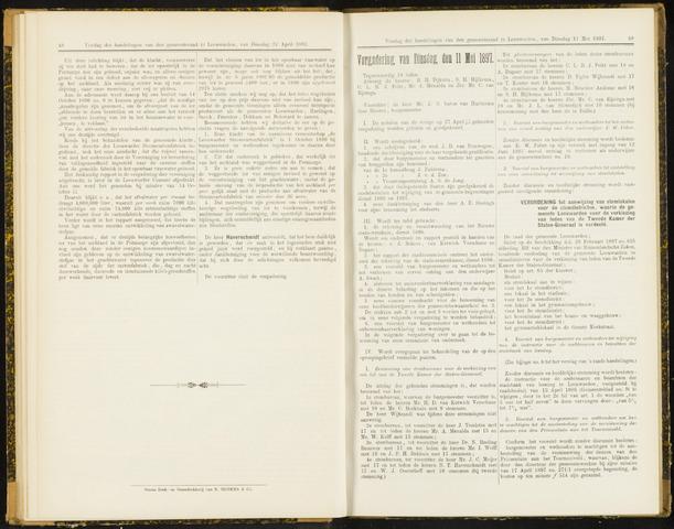 Raadsverslagen van de gemeente Leeuwarden, 1865-2007 (Notulen) 1897-05-11
