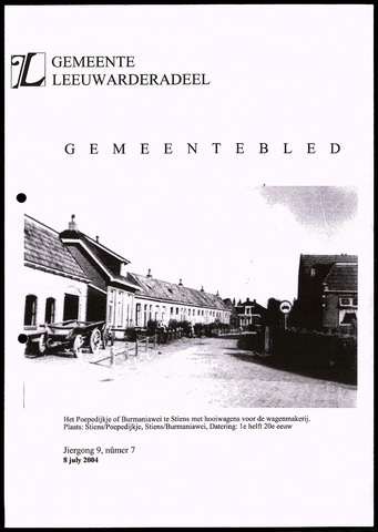 Notulen van de gemeenteraad van Leeuwarderadeel 2004-07-08