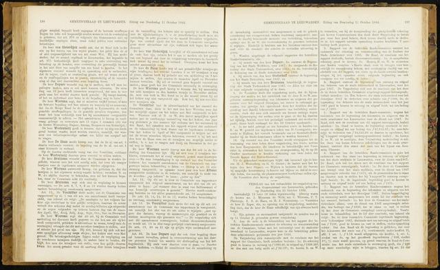 Raadsverslagen van de gemeente Leeuwarden, 1865-2007 (Notulen) 1866-10-25