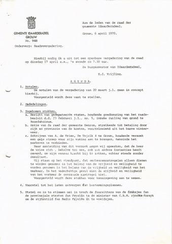 raadsverslagen Idaarderadeel 1935-1983 1979-04-17