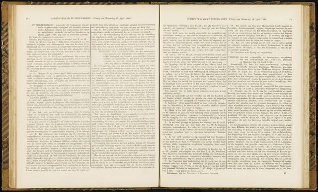 Raadsverslagen van de gemeente Leeuwarden, 1865-2007 (Notulen) 1866-04-23