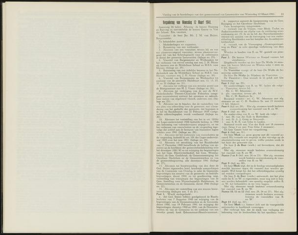 Raadsverslagen van de gemeente Leeuwarden, 1865-2007 (Notulen) 1941-03-12